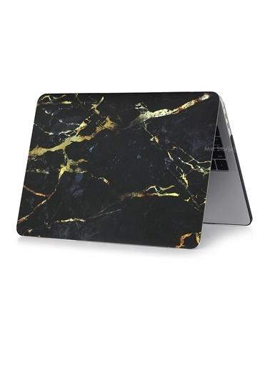 "Mcstorey MacBook Retina A1398 15"" 15.4"" Kılıf Sert Shell Kapak Koruma Hard Incase Mermer Vizon"